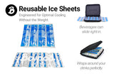 PROMO 3 Pack- Custom Reusable Ice Sheets