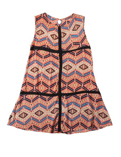 MISTER ZIMI 'Geometric' Summer Dress | size 10