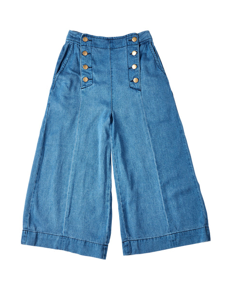 DOTTI 'Hippy Sailor' Culottes | Size 6