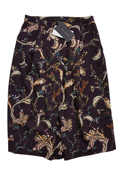 BNWT ZARA 'Winter Flowers' Skirt | Size L