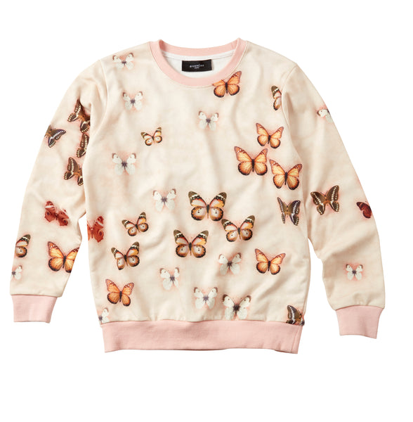 Genuine GIVENCHY 'Butterfly' Jumper | Size 8-10