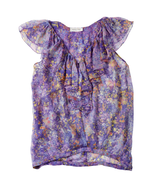 MEGAN PARK Silk Top | Size 1