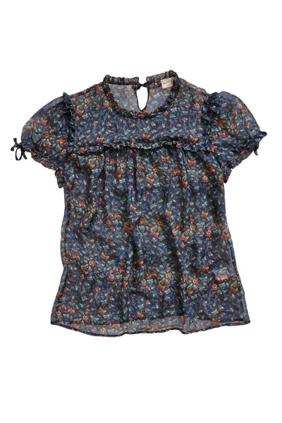 GORMAN 'Flower' Silk Top | Size S