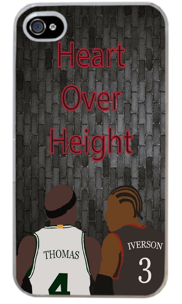"""Heart over Height"" Phone Case"