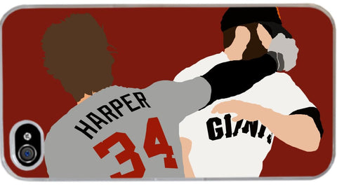 """Harper Fight"" Phone Case"