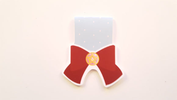 Sailor bow magnetic bookmark