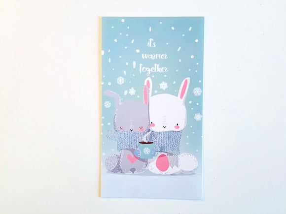 winter bunnies planner dashboard