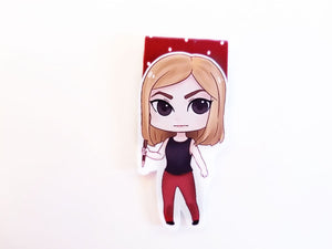 Vampire slayer magnetic bookmarks