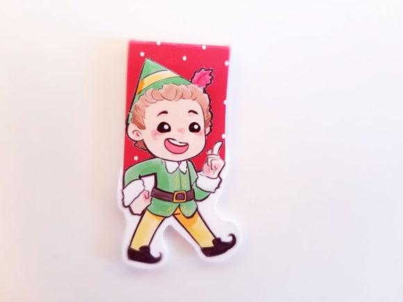 Elf Magnetic bookmark