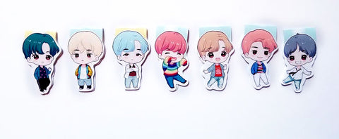 BTS DNA magnetic bookmarks