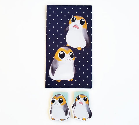 porg planner dashboard or bookmark