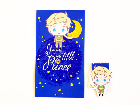 le petit prince planner dashboard or bookmark