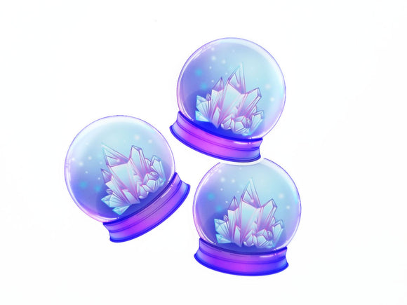 Crystal Ball die cut