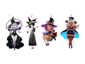 Witchy Babes Die cuts