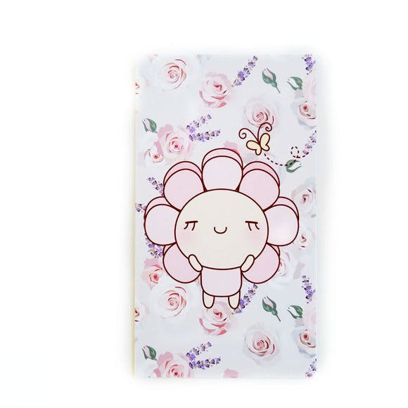 Pink Daisy and Flowers planner dashboard