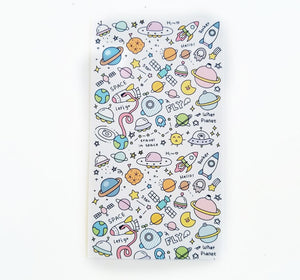 Space Doodles planner dashboard