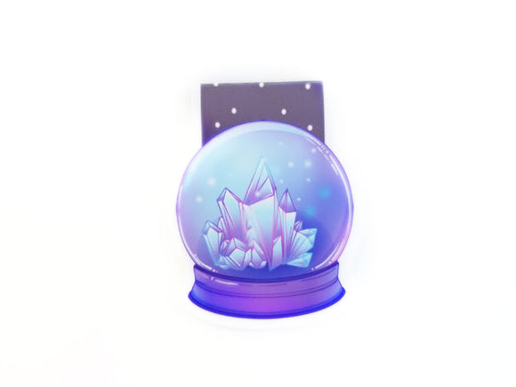 Crystal Ball magnetic bookmark