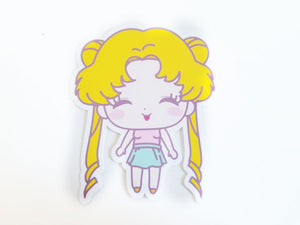 90s Sailor fashion die cut