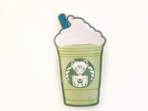 Magical Green Tea Frap Page marker