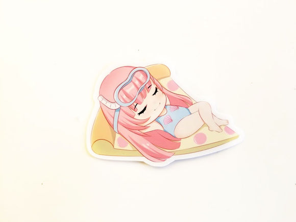 Pool Party Elodie die cut