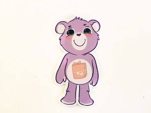 Planner bear die cut