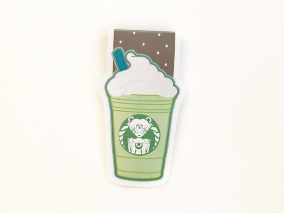 Magical Green Tea Frap magnetic bookmark