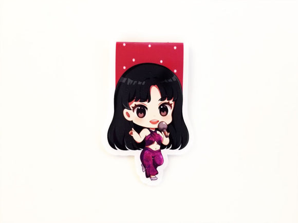 Selena Quintanilla magnetic bookmark