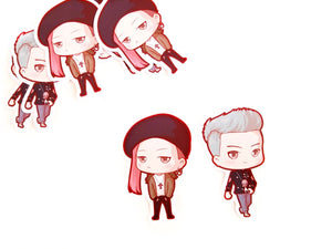 T.O.P or Gdragon die cut