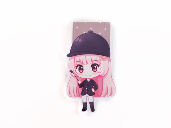 Equestrian Elodie magnetic bookmark