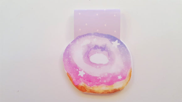 pastel starry night donut