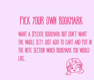Pick your own bookmark
