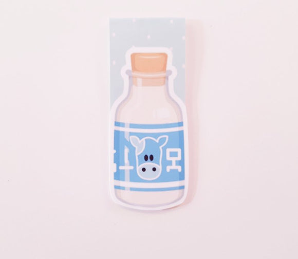 lon lon milk magnetic bookmark