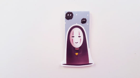 No face magnetic bookmark