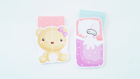 Bedtime Buddies magnetic bookmarks