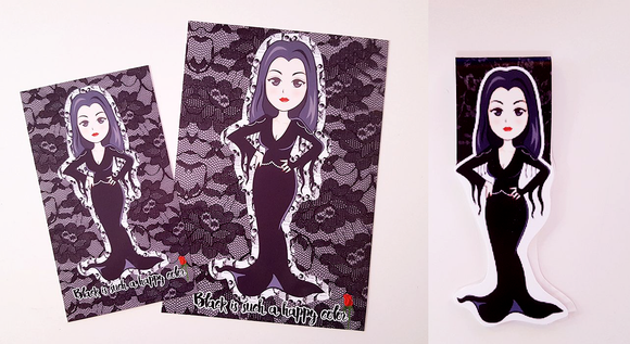 Morticia is my spirit animal dashboard or bookmark