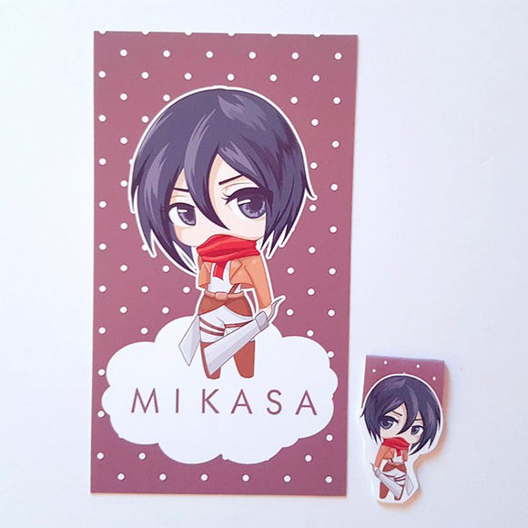 Mikasa dashboard or magnetic bookmark