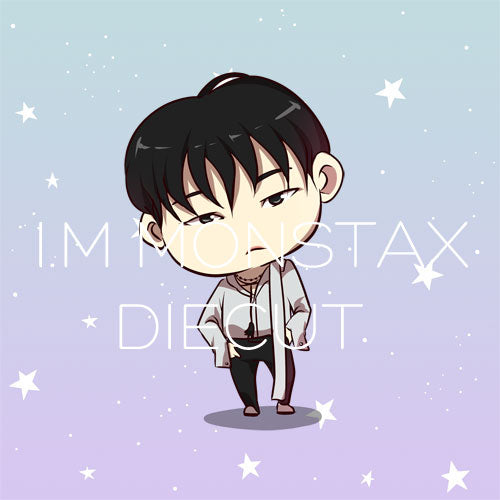 I.M Monsta X die cut