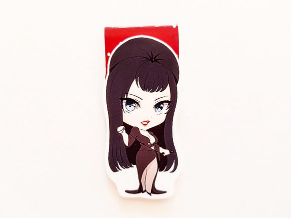 Mistress of the dark magnetic bookmark