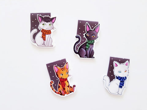 Pawter House magnetic bookmarks