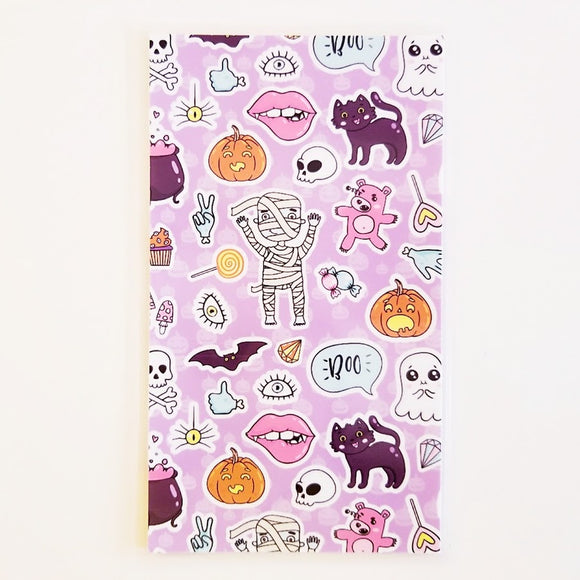 kawaii halloween planner dashboard
