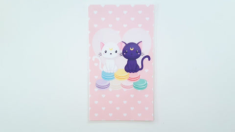 Cats, Love, and Macarons planner dashboard