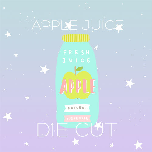Apple Juice die cut