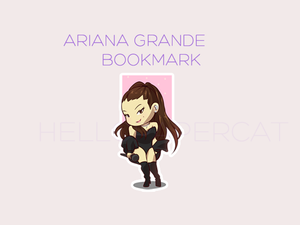 Ariana Grande magnetic bookmark
