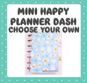 Mini happy planner dashboard