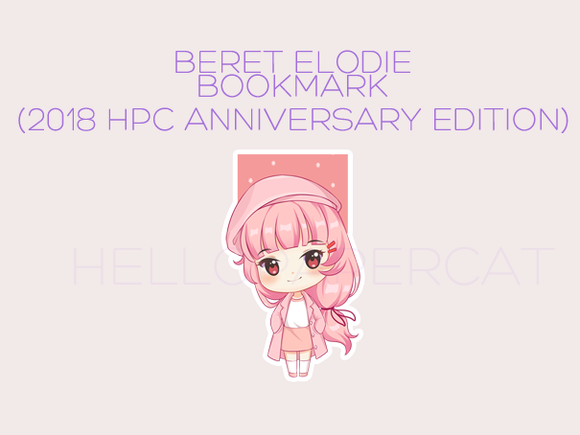 Beret Elodie magnetic bookmark