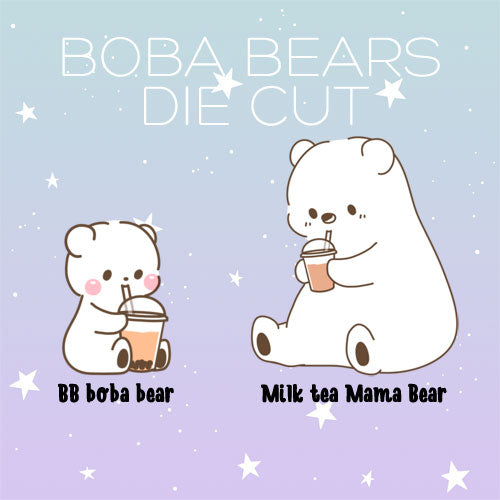 Boba Bears die cut