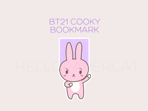 BT21 Cooky magnetic bookmark