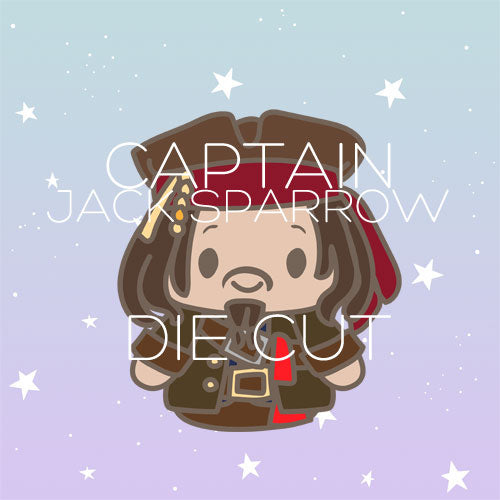 Captain Jack Sparrow die cut