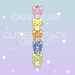 bear cuties stack die cut