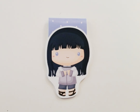 Hinata inspired magnetic bookmark